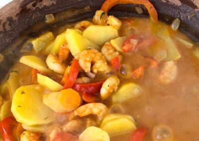 brasilianische Moqueca mit Shrimps – ein weiteres Tajine Rezept