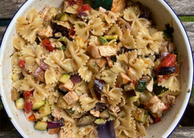 Grillsalat – darfs ein wenig Salat sein wo der Fleischanteil nicht fehlen darf?