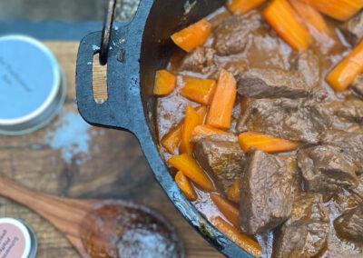 Rinderschmordopf – ein wirklich einfaches schmackhaftes Rezept aus dem Dutch Oven