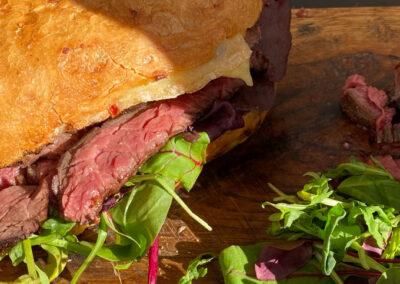 Skirtsteak Sandwich – ein Sandwich wie vom Himmel