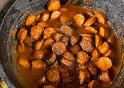 Currywurst Dopf